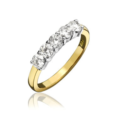 Classical Diamond Eternity Ring