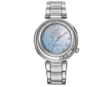 Womens Citizen Diamond Set Watch