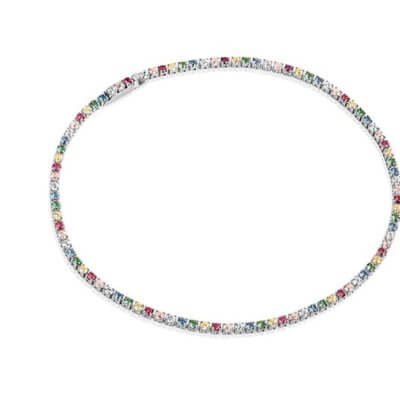 Bracelet Ellera With Multicoloured Zirconia
