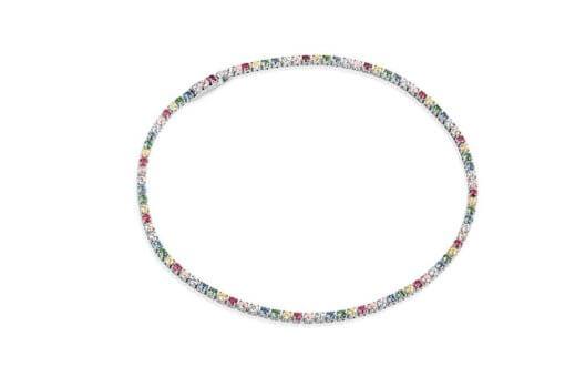 Bracelet Ellera With Multicoloured Zirconia
