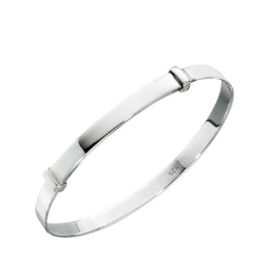 Silver Expanding Child's Bangle