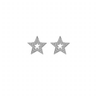 Hot Diamonds Star Earrings Hoppers
